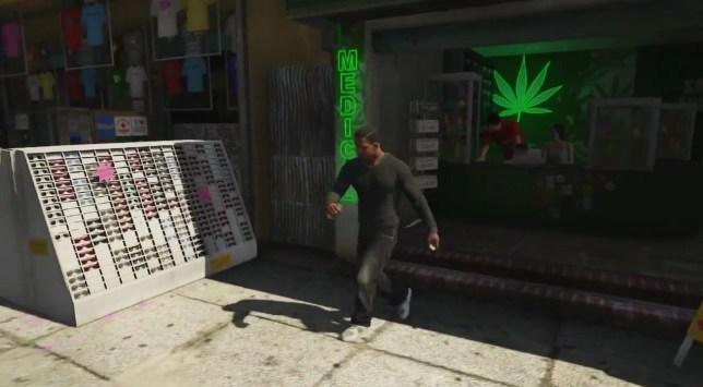 GTA 5 marijuana shop