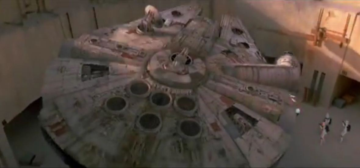 Millennium Falcon and Cantina 'to return' in Star Wars Episode 7
