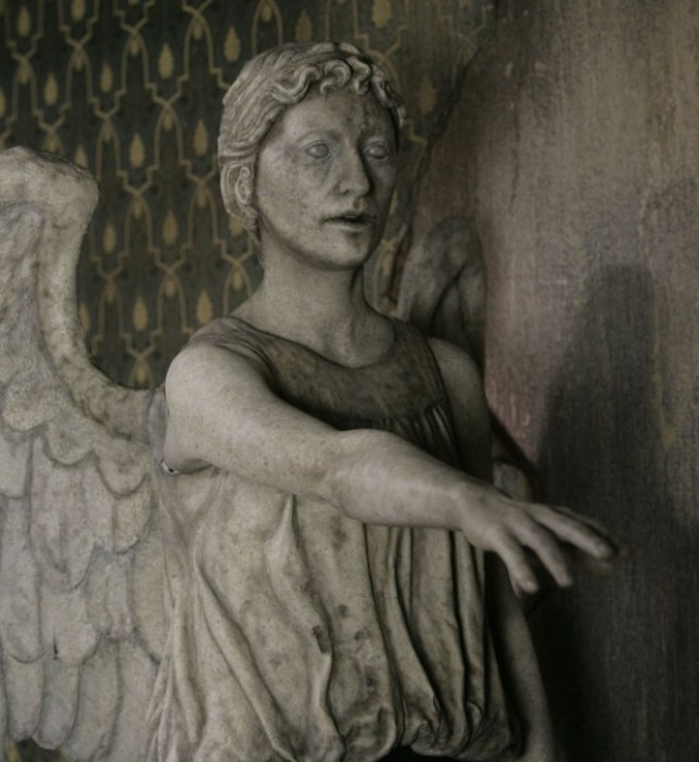 TELEVISION PROGRAMME: DOCTOR WHO episode 10  Picture shows: a Weeping Angel  WARNING: Use of this copyright image is subject to terms of Use of the Digital Picture Service.  In particular, this image may only be used during the publicity period for the purpose of publicisng 'Doctor Who' and provided the BBC is credited.  Any use of this image on the internet or for any other purpose whatsoever, including advertising and other commercial uses, requires the prior written approval of the BBC.