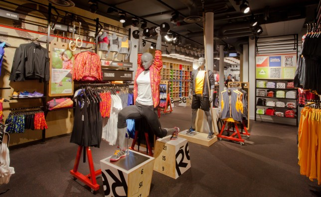 Reebok FitHub Store, Covent Garden, London
