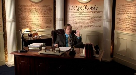 Saul Goodman in Joking Bad