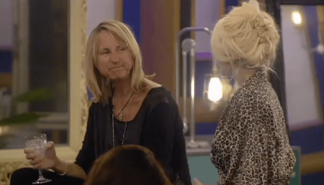Courtney and Carol bonded over their mutual hate of spas (Picture: Channel 5)