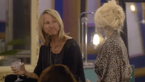Carol McGiffin and Courtney Stodden make up over pedicures on Celebrity Big Brother