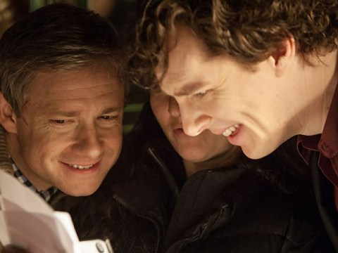 BBC offers new clues to Sherlock series 3 as behind the scenes snaps are released