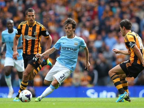 Manchester City's David Silva rubbishes Real Madrid transfer links