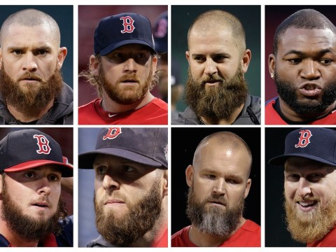 Ten great World Series beards: Boston beat St Louis in battle of the face fuzz and it's no close shave