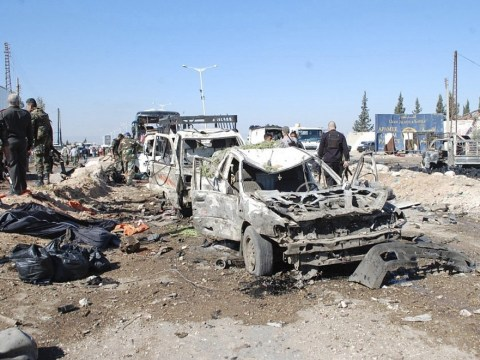 Suicide bomb attack at government checkpoint kills 30 in Syria