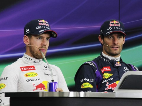 Sebastian Vettel admits respect for Mark Webber as Red Bull pair bury the hatchet