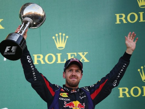 Sebastian Vettel insists it is the thrill of racing rather than making history which spurs him on to win titles with Red Bull