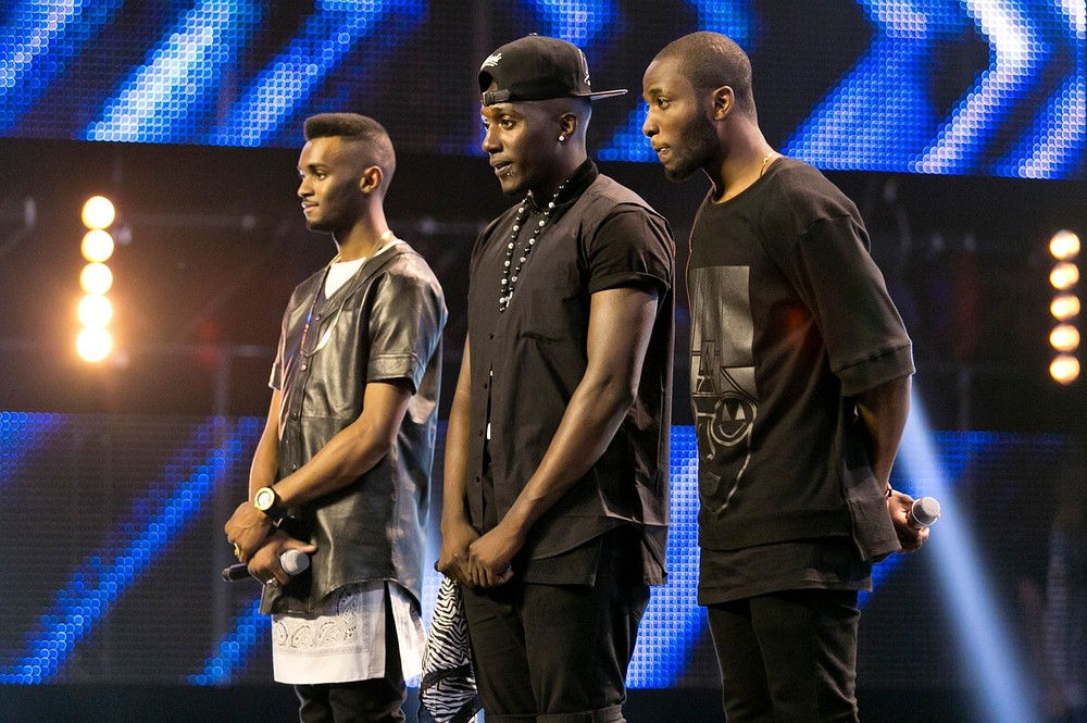 Rough Copy may have lost out on a place in the X Factor final but reveal they have God and Barbara Windsor as fans