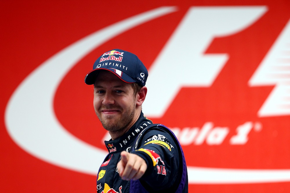 Sebastian Vettel clinches fourth world title for Red Bull at Indian Grand Prix and speaks of how boos hurt him this season
