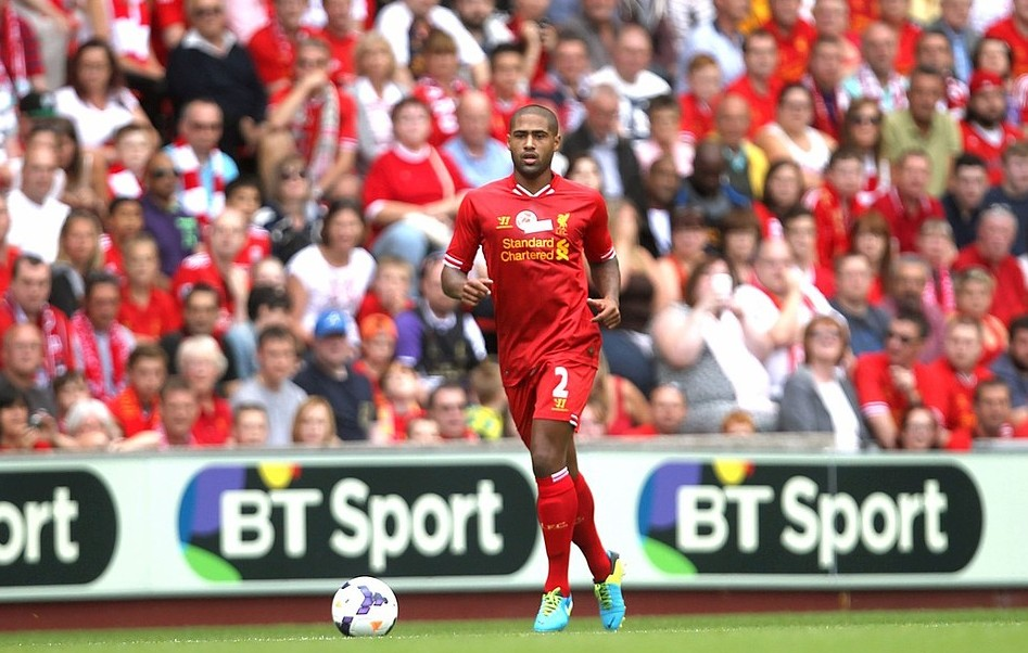 File photo dated 03/08/13 of Glen Johnson with BT Sport logos in the background as it was announced that BT has tripled the number of viewers ready to start watching its new sports channels to three million by signing a deal with Virgin Media. PA Wire/Press Association Images