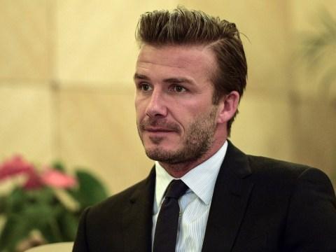 David Beckham backs David Moyes to turn things around at Manchester United