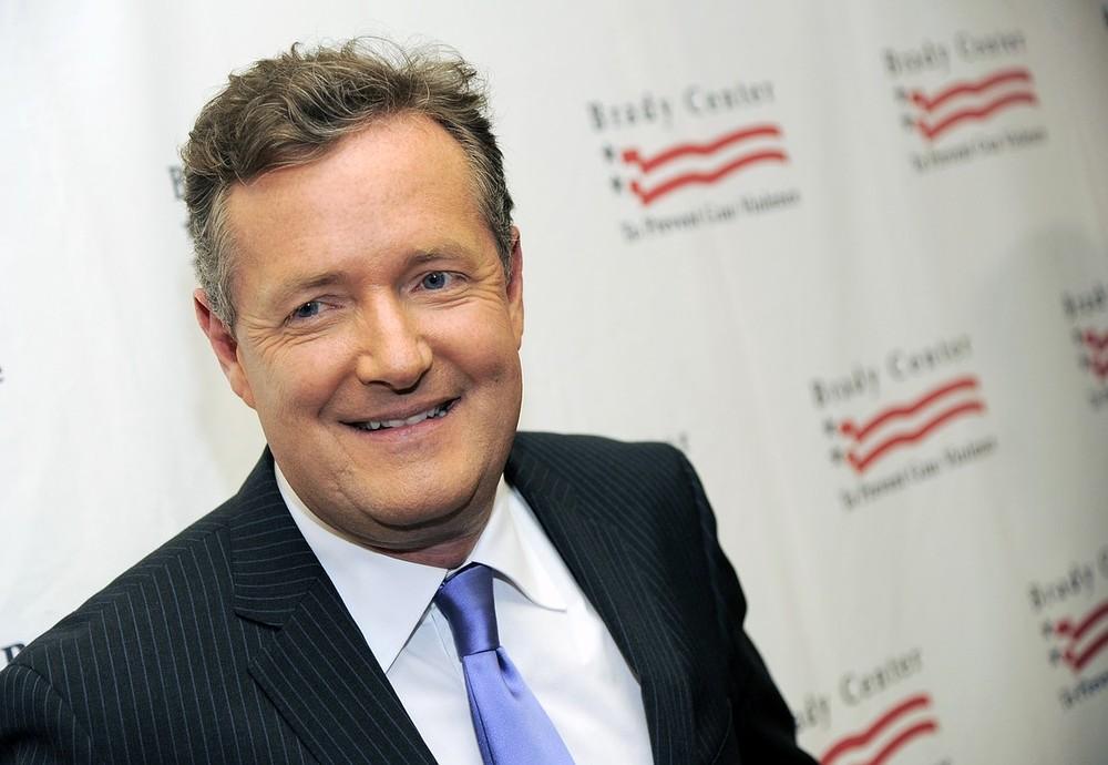 Piers Morgan sorry for 'insensitive' UK storm tweet
