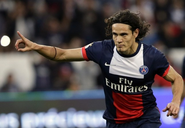 PSG nearly doubled Manchester City's offer for Edinson Cavani (Picture: Getty)