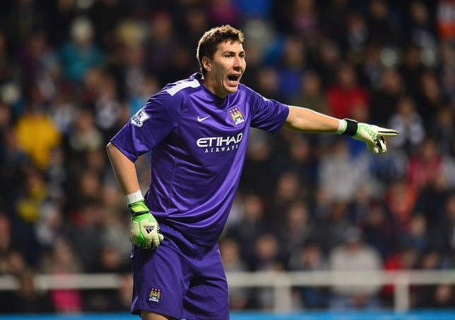 Costel Pantilimon, Manchester City goalkeeper. PA Wire/Press Association Images