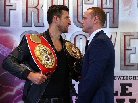 Carl Froch: I'll punish disrespectful George Groves in Manchester