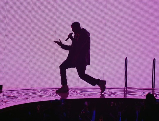 Drake performs in New York City (Picture: Getty)
