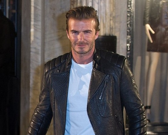 David Beckham fools Halloween party guests by dressing up as… himself