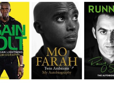 Books about running: Usain Bolt, Mo Farah and Ronnie O'Sullivan tackle a common theme