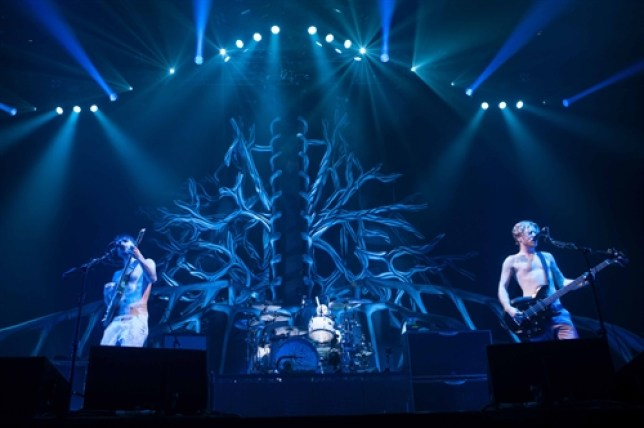 Biffy Clyro will be performing live for users of a new smartphone app