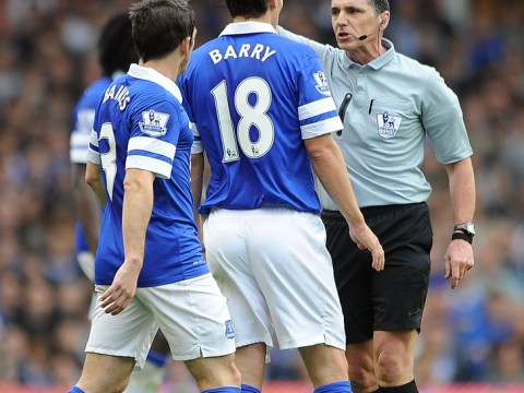 Gareth Barry's horror challenges go unpunished as Hull City lose at Everton