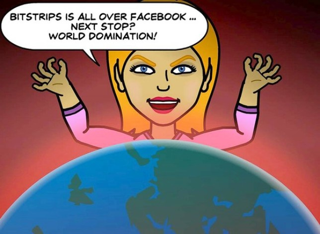Bitstrips seems to be everywhere on Facebook (Picture: Bitstrips)