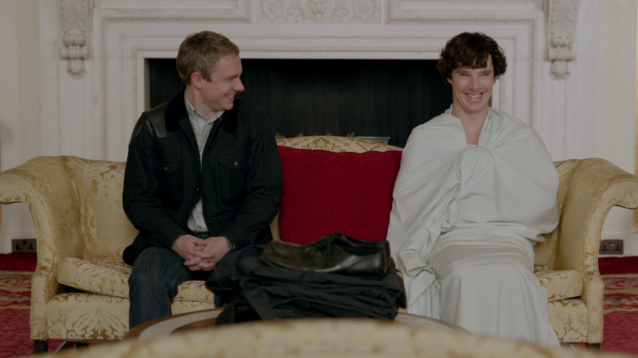 Sherlock: Forget series three… how about series four?