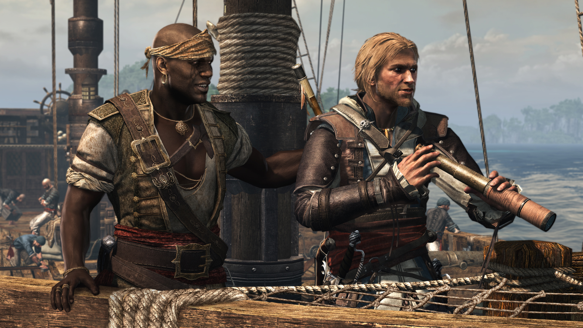 Assassin's Creed IV - that release date be gainin' on us cap'n!