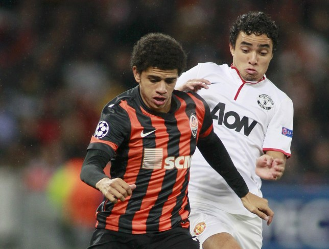 Taison scores for Shakhtar (Action Images)