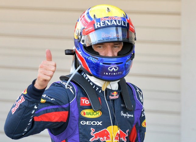 Red Bull driver Mark Webber of Australia