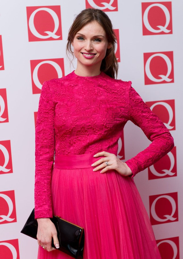 Sophie Ellis-Bextor in the pink at The Q Awards at The Grosvenor House Hotel on October 21, 2013 in London, England.  (Photo by Ian Gavan/Getty Images)