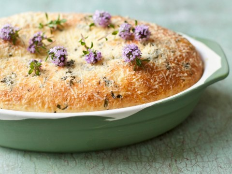 How to cook Ardsallagh goat's cheese and thyme leaf soufflé