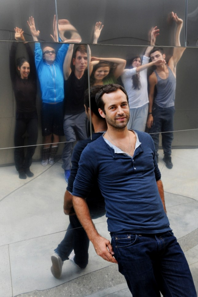 Benjamin Millepied with members of his dance company, L.A. Dance Project (Picture: New York Times/Redux/Eyevine)