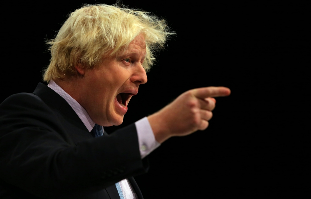 Mayor of London Boris Johnson 'banned anti-gay bus advert to secure pink vote'
