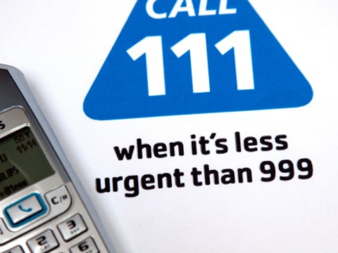 Would you call the NHS 111 service for non emergency advice?