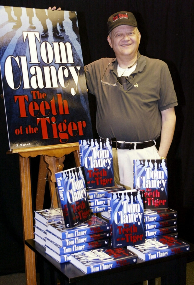 Patriot Games author Tom Clancy dead at 66