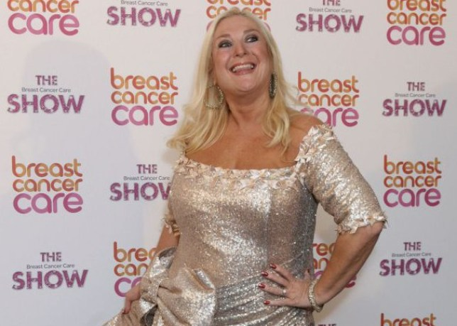 Vanessa Feltz arriving for the Breast Cancer Care Fashion Show, at the Grosvenor House Hotel on Park Lane, central London. PRESS ASSOCIATION Photo. Picture date: Wednesday 2 October, 2013. Photo credit should read: Yui Mok/PA Wire