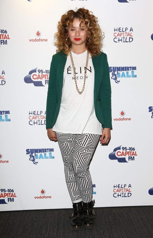 Ella Eyre on her 'very high maintenance' hair and imminent solo material