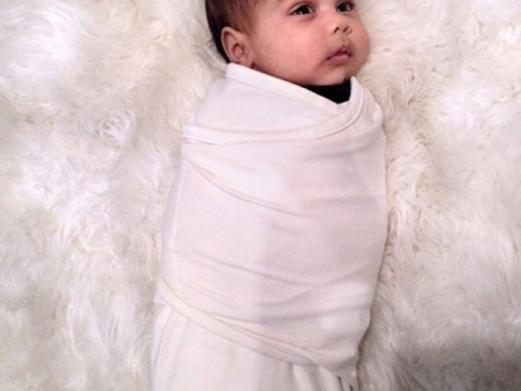 Kim Kardashian shares second photo of daughter North West