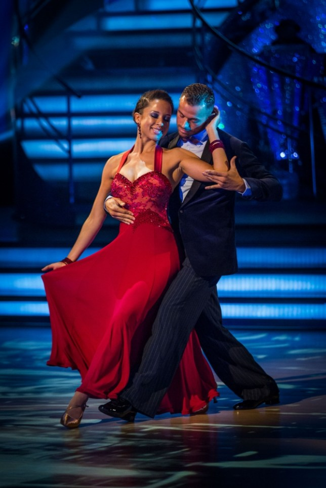 Embargoed to 2025 Saturday October 5. For use in UK, Ireland or Benelux countries only. BBC handout photo of Artem Chigvinstev and Natalie Gumede performing during rehearsals for the BBC programme Stictly Come Dancing. PRESS ASSOCIATION Photo. Issue date: Saturday October 5, 2013. See PA story SHOWBIZ Strictly. Photo credit should read: Guy Levy/BBC/PA Wire NOTE TO EDITORS: Not for use more than 21 days after issue. You may use this picture without charge only for the purpose of publicising or reporting on current BBC programming, personnel or other BBC output or activity within 21 days of issue. Any use after that time MUST be cleared through BBC Picture Publicity. Please credit the image to the BBC and any named photographer or independent programme maker, as described in the caption.