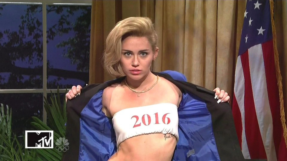 Miley Cyrus 'bags a date' at SNL party