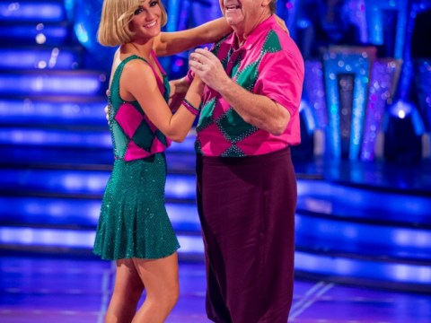 Tony Jacklin becomes first celebrity to waltz off Strictly Come Dancing