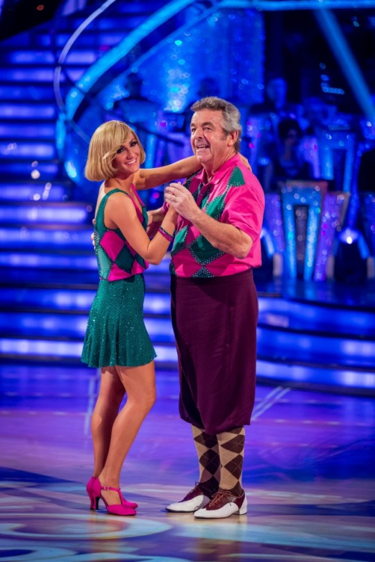 Strictly Come Dancing Tony Jacklin and Aliona Vilani