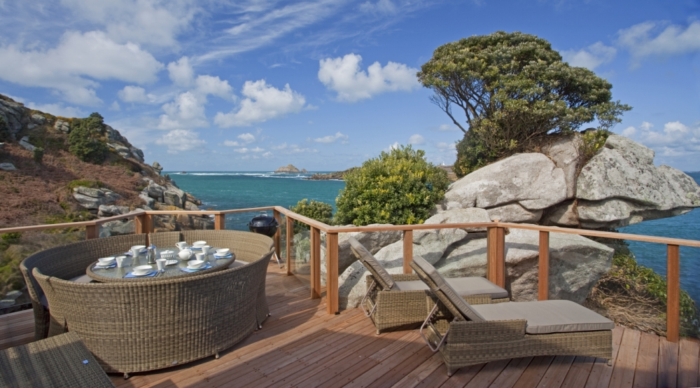 The view from Sea Garden Cottages in Tresco (Picture: Rob Lea)