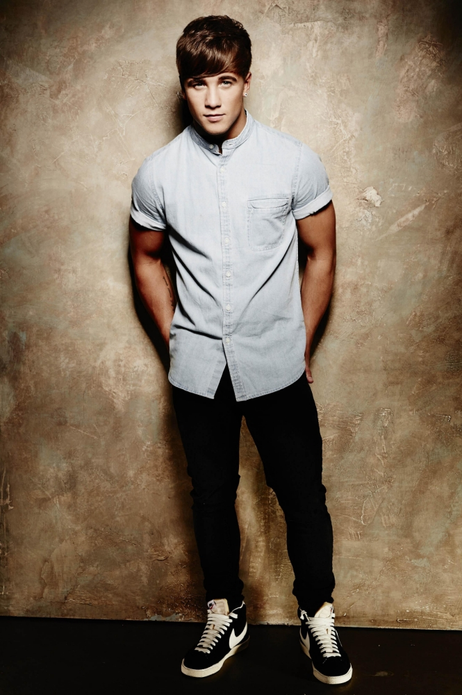 The X Factor's Sam Callahan: I'll strip naked when it will work best for my career