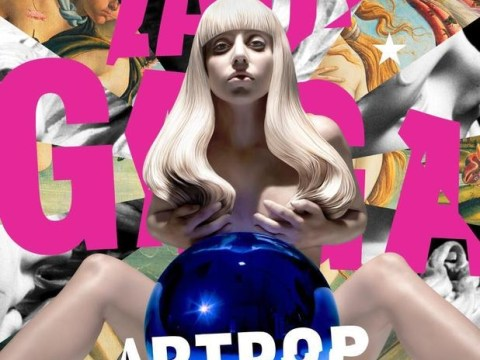 Lady Gaga recreated in naked sculpture form as ARTPOP cover is unveiled