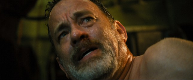 Tom Hanks stars in Captain Phillips, the story of a man 's terrifying encounter with Somali pirates (Picture: Columbia Pictures)