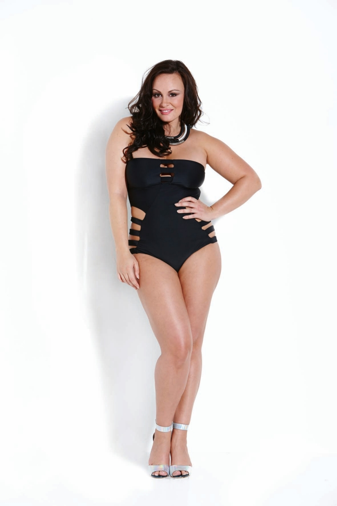 Chanelle Hayes reveals 3st weight gain in swimwear shoot: 'I'm fatter than I want to be'