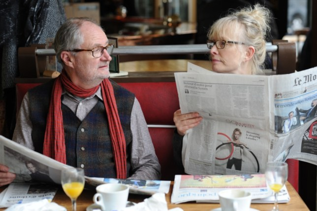 Jim Broadbent and Lindsay Duncan see their marriage threaten to unravel in Le Week-End (Picture: Artificial Eye)